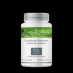 Anti-Reflux, complément alimentaire qui contribue à réduire les remontées acides et brûlures d'estomac