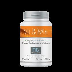 Complément alimentaire à base de 11 vitamines et 9 minéraux