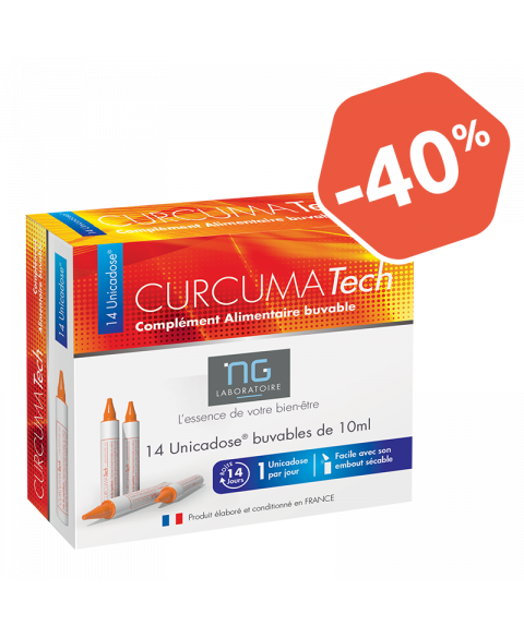 Curcuma Tech, des plantes en dose pour votre confort articulaire