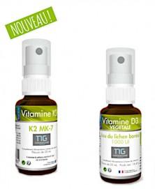 pack duo vitamine D3 vegetale et vitamine K2M7 contribue à renforcer le système immunitaire