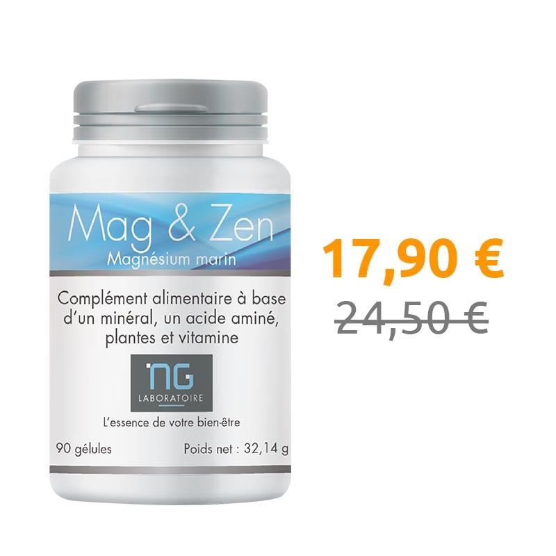 Mag & Zen baisse de prix et passe de 24,50 € à 17,90 € !