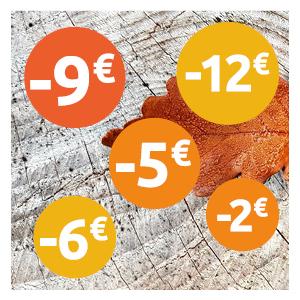 Nos prix baissent sur 22 produits !